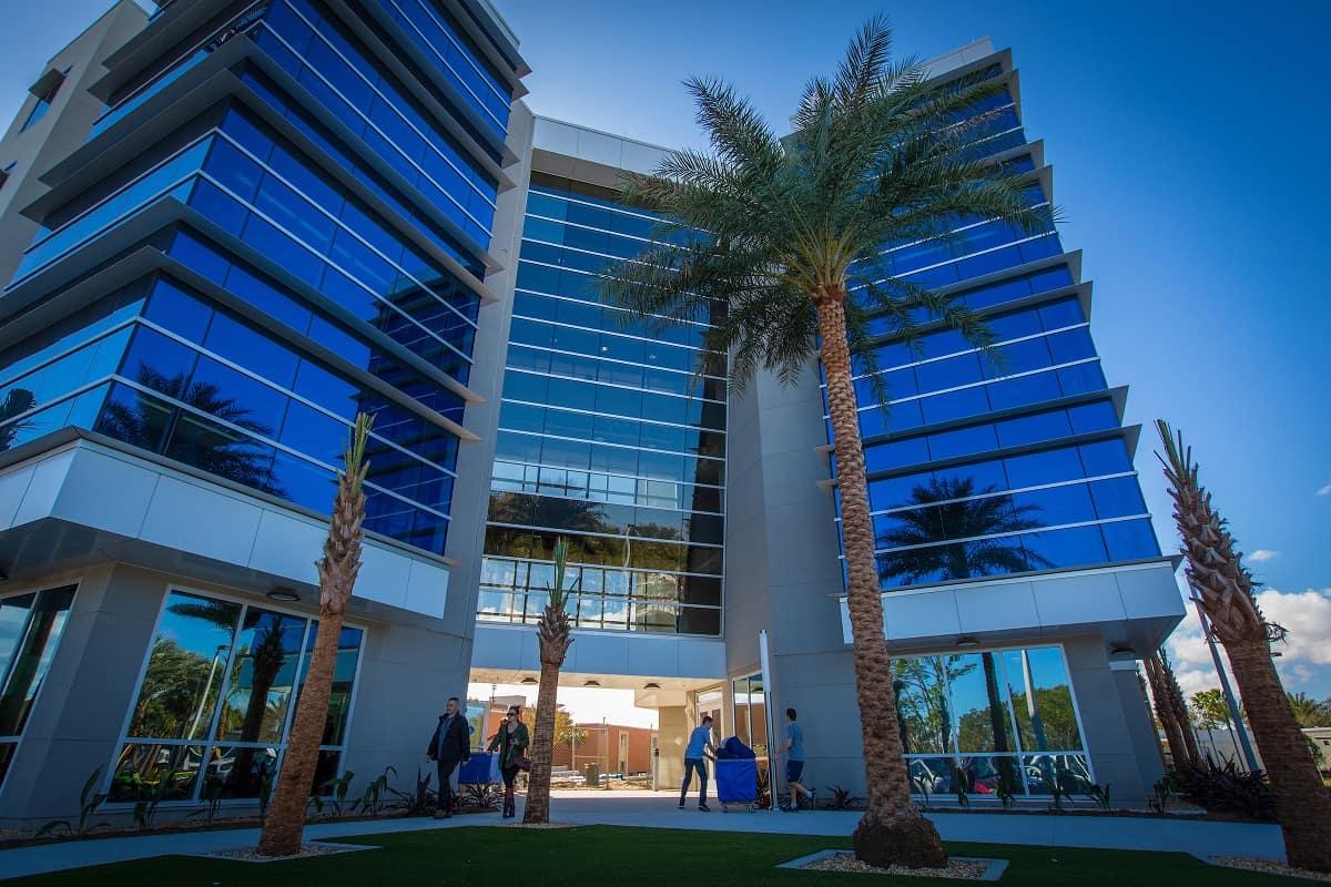 New Residence Hall Open To Students At Daytona Beach