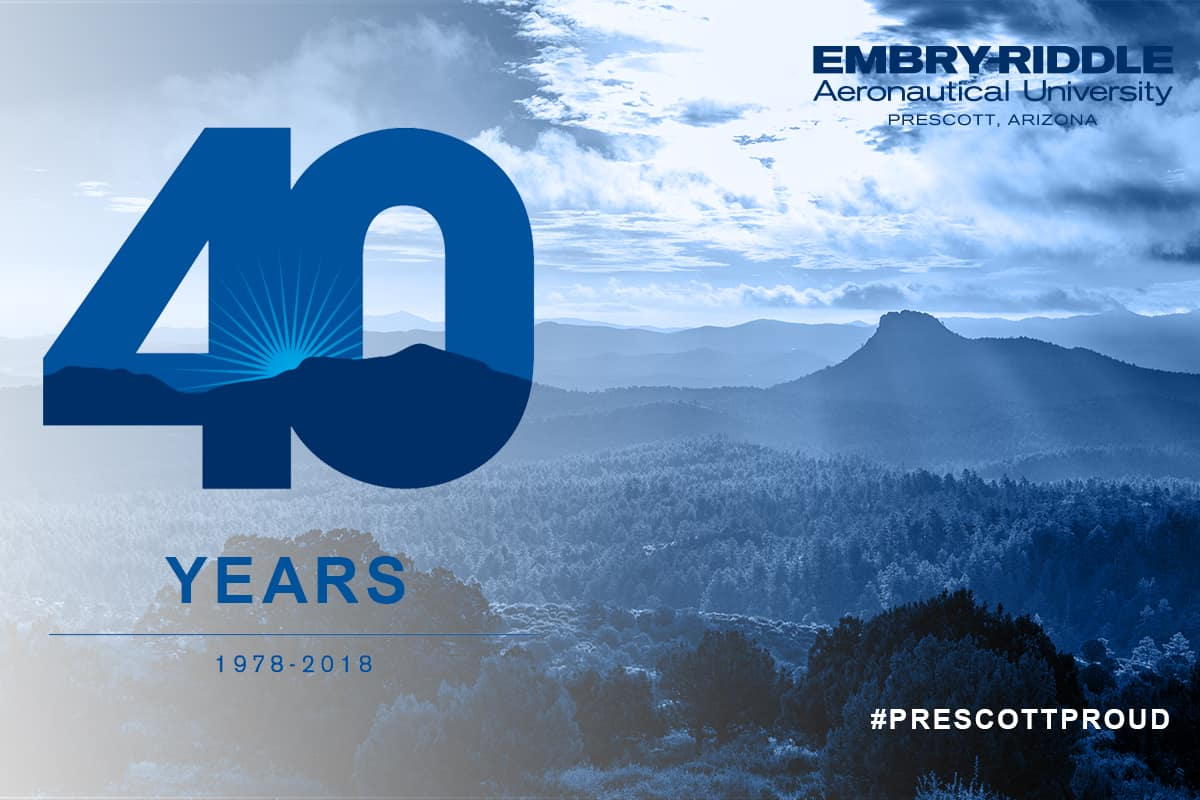 Embry-Riddle Prescott 40th Anniversary