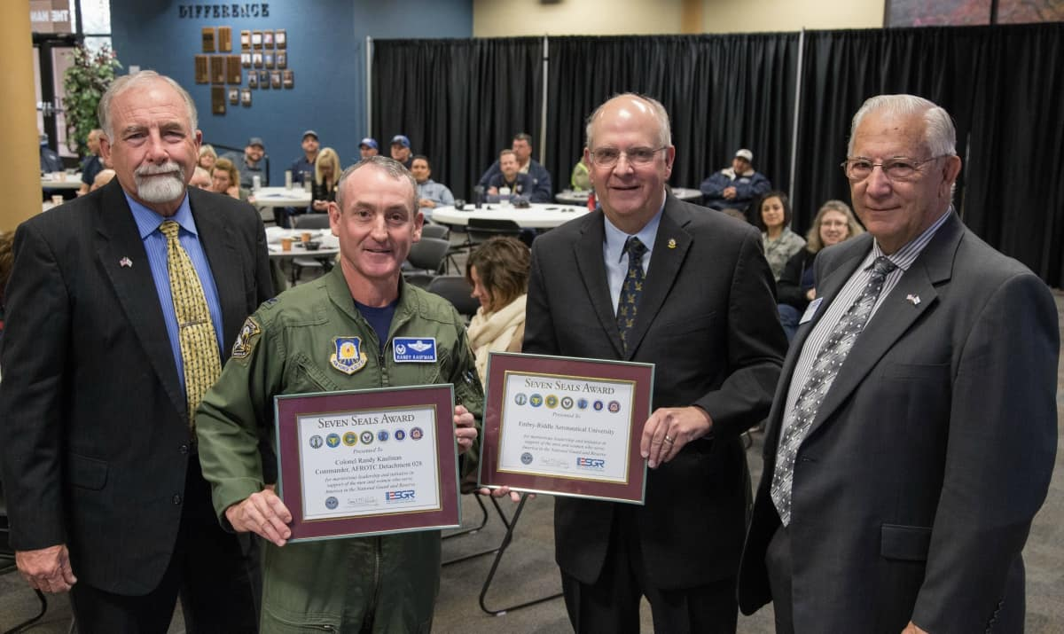 ESGR Awards Embry-Riddle and AFROTC