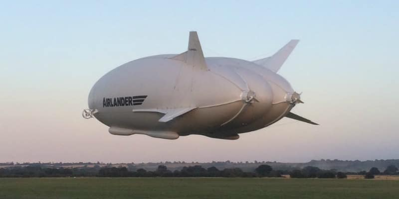 The 302-foot Airlander 10. Photo Credit: Hybrid Air Vehicles