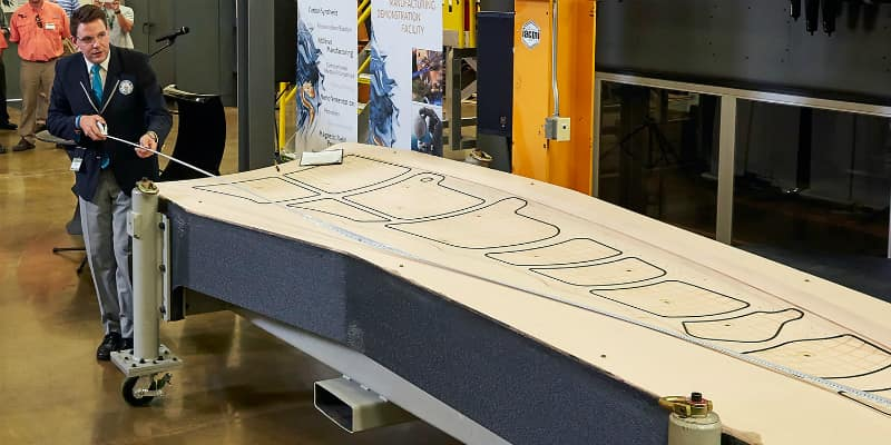 Boeing made news recently with the Oak Ridge National Laboratory for creating the world's largest single 3D-printed object.