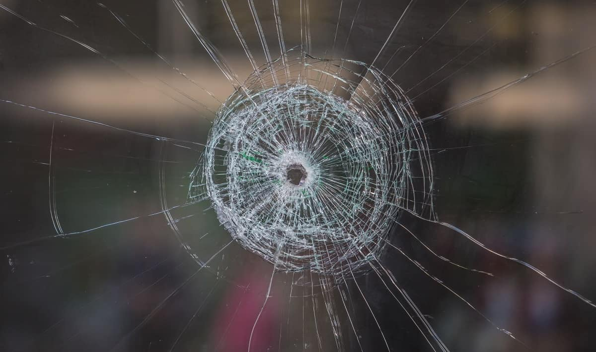 bullet hole - getty images