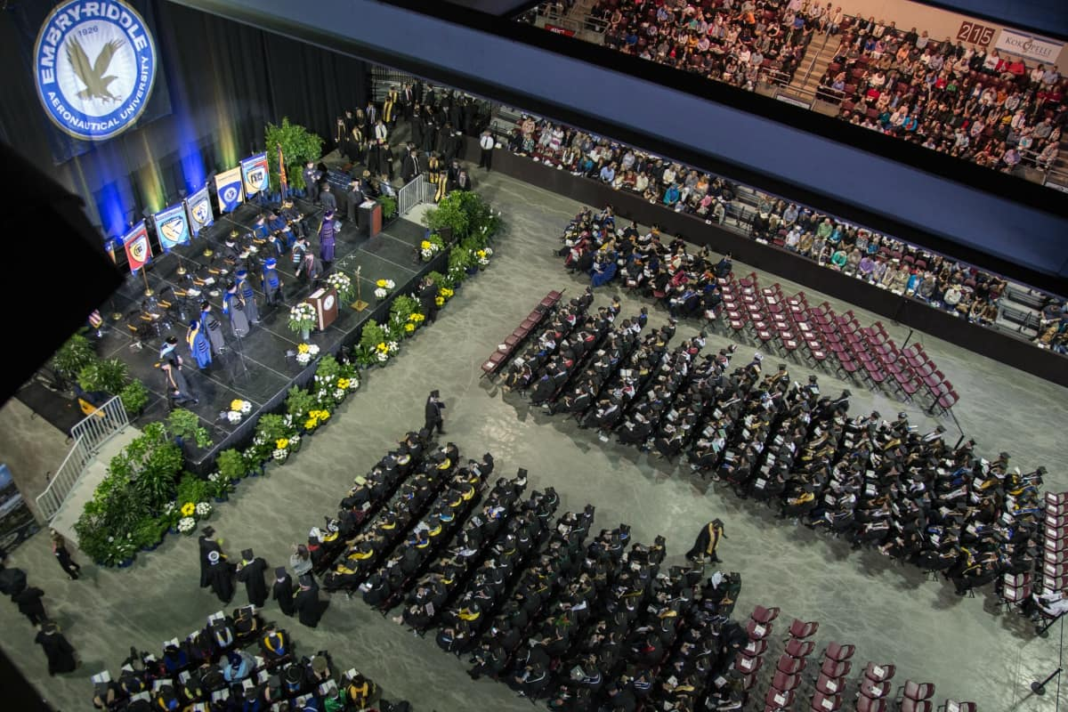 200 Graduates To Participate In Embry Riddle Commencement