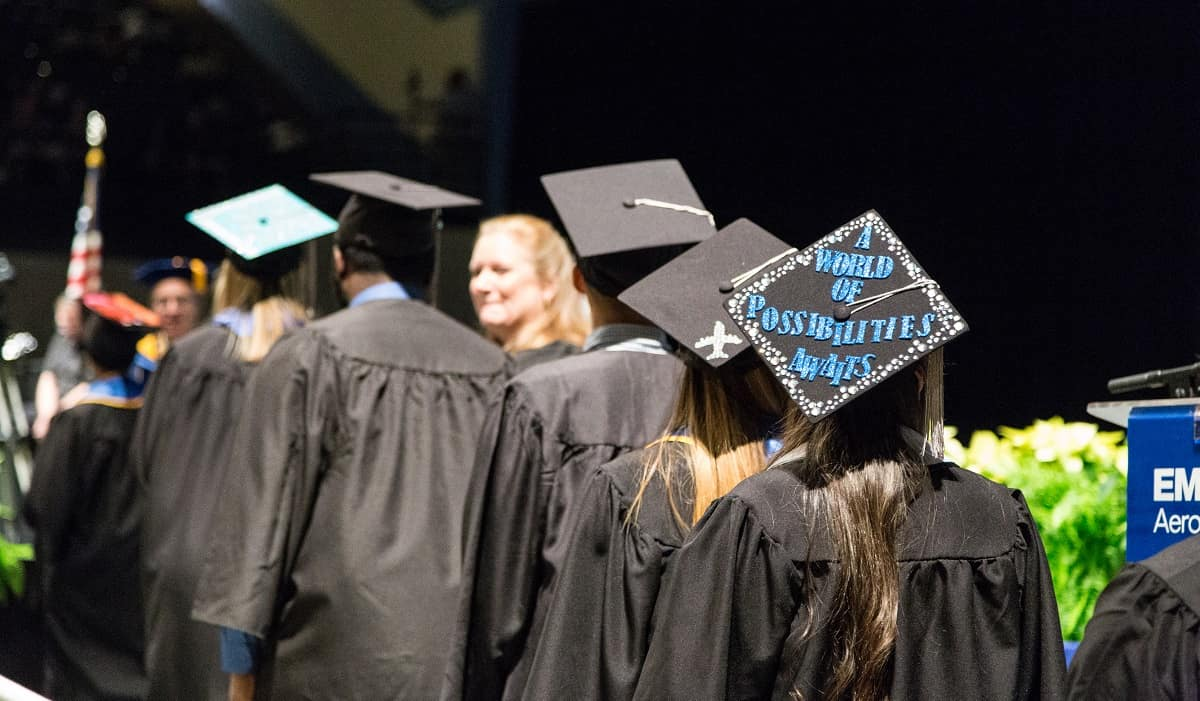 2017 Fall Commencement at the Embry-Riddle Daytona Beach Campus