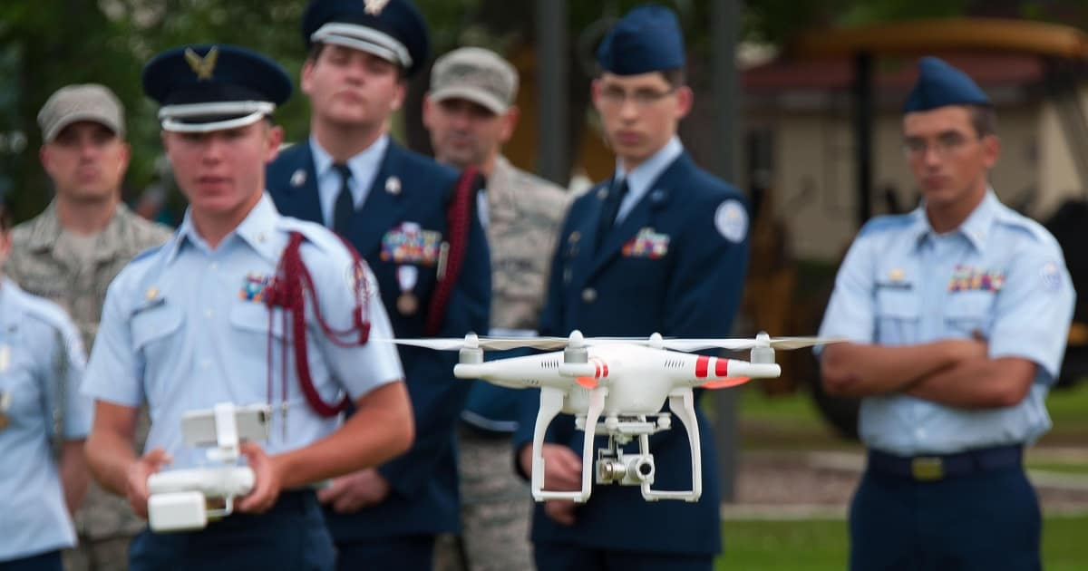 Drone Pilot Training >> Partnership with Air Force Junior Reserve Officer Training ...