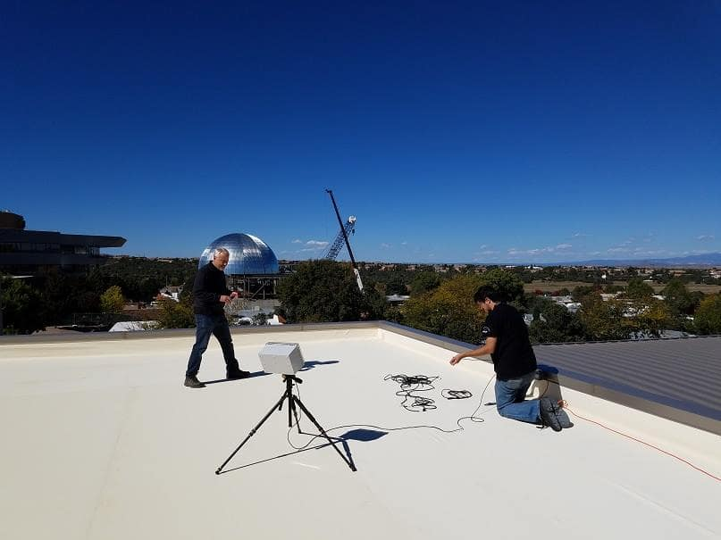 Passive rooftop drone detection system at Prescott Campus