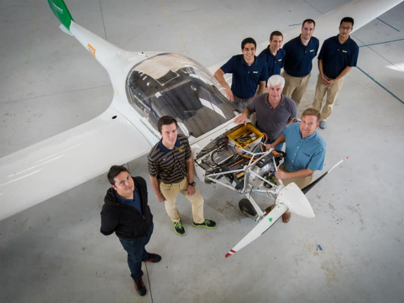 Embry-Riddle's Eagle Flight Research Center team