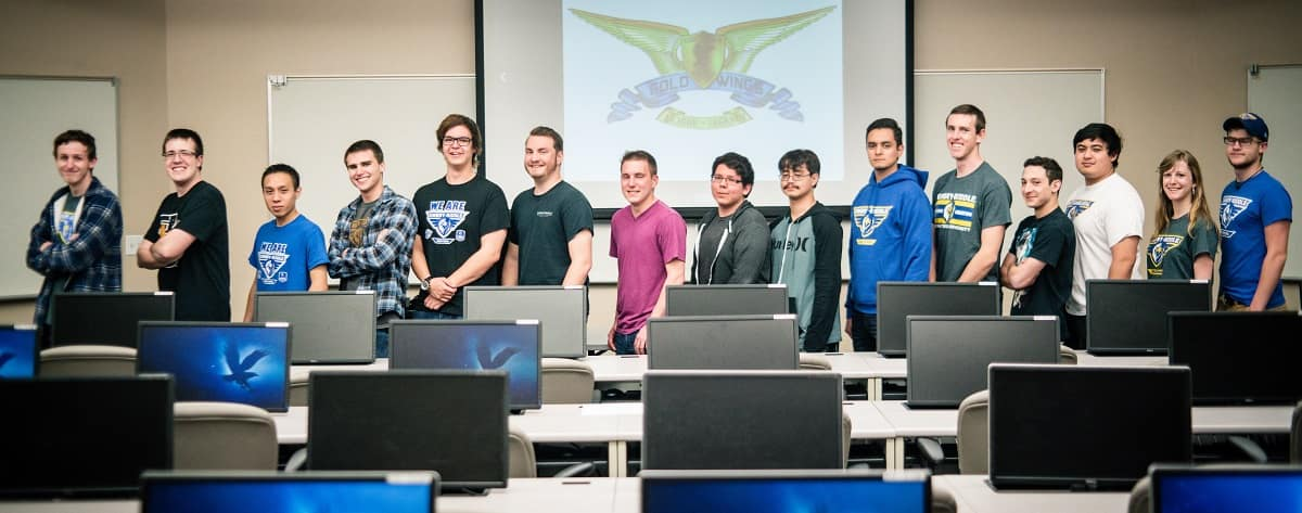 Prescott's E-Sports Gold Wings Teams
