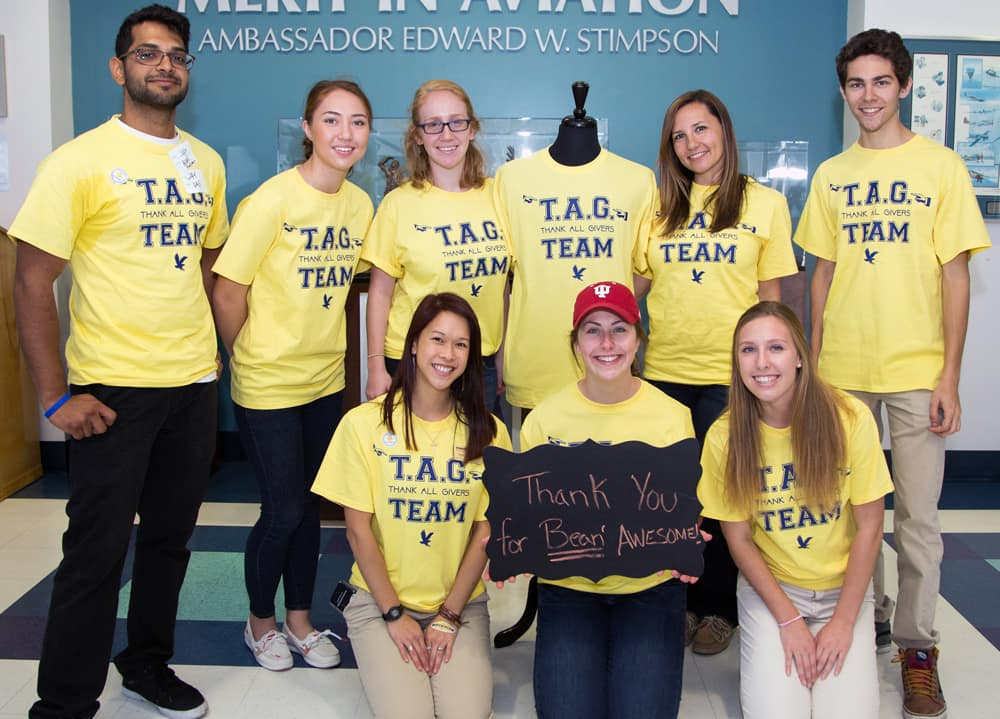 Faculty and Staff Campaign's TAG Team