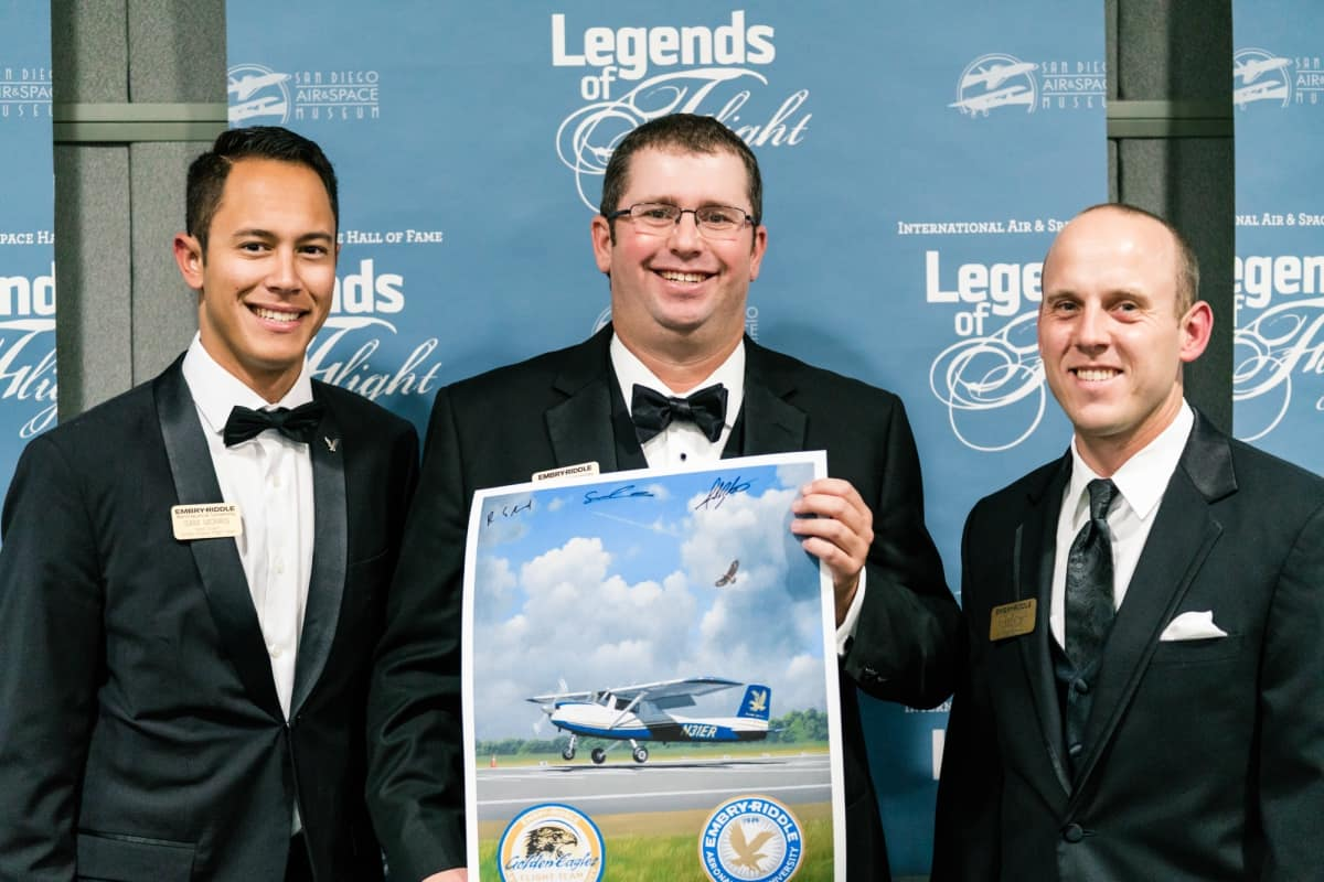 Golden Eagles Flight Team Hall of Fame Induction