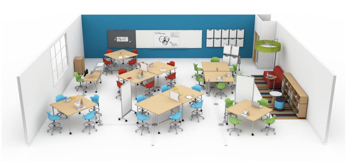 Steelcase Classroom Design Proposal