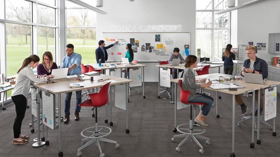 Classroom Furniture Dwg ~ Embry riddle prescott awarded grant for active