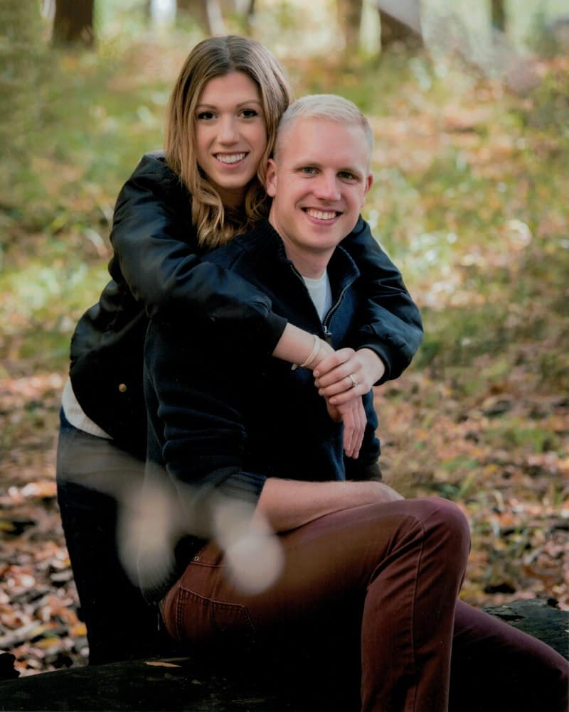 Davis ('15) and Jennie ('16) White both graduated with Applied Meteorology degrees from the Prescott Campus and married when Jennie finished her classes.