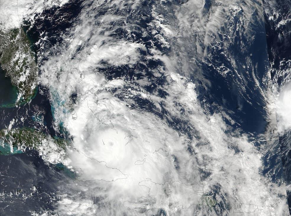 Hurricane Matthew October 5, 2:30 p.m. from NOAA/NASA Goddard Rapid Response Team