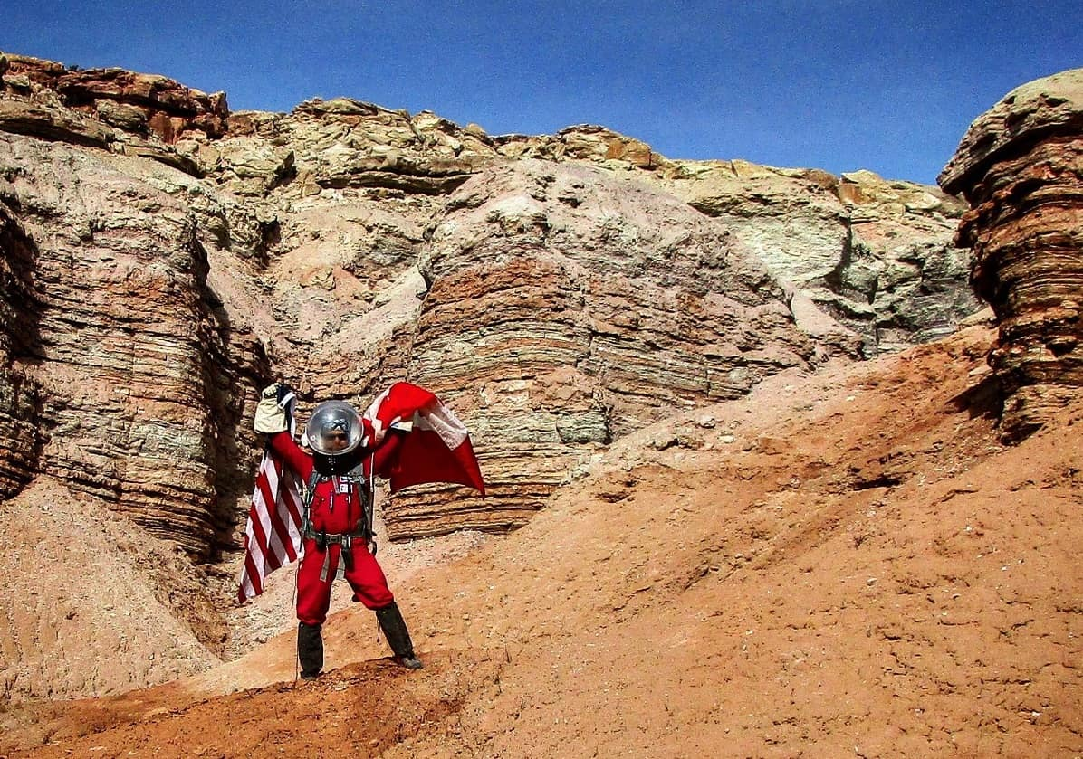 Exploring Mars     in Utah | Embry-Riddle Aeronautical