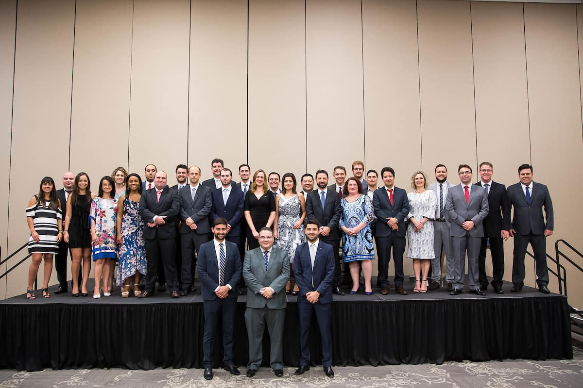 2018 graduates of Embry-Riddle Central & South America's Aviation Management Program.