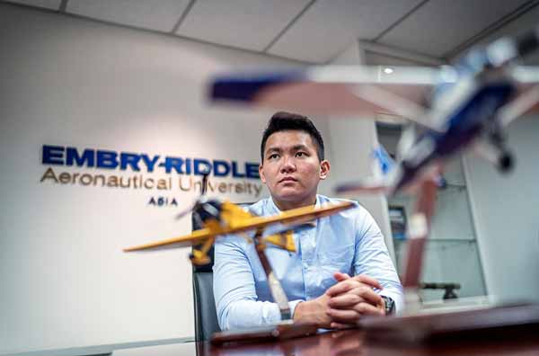 Embry-Riddle Asia Alumni Alex Ong
