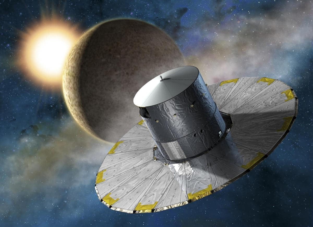 Embry-Riddle researchers used data captured by the Gaia satellite (shown here in an artist's impression) to determine the ages of stars.