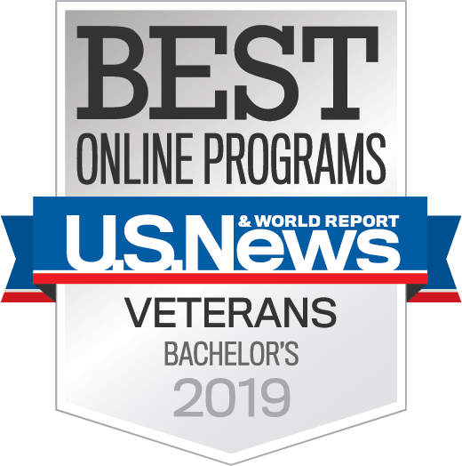 U.S. News & World Report's 2019 Best Online Programs for Veterans