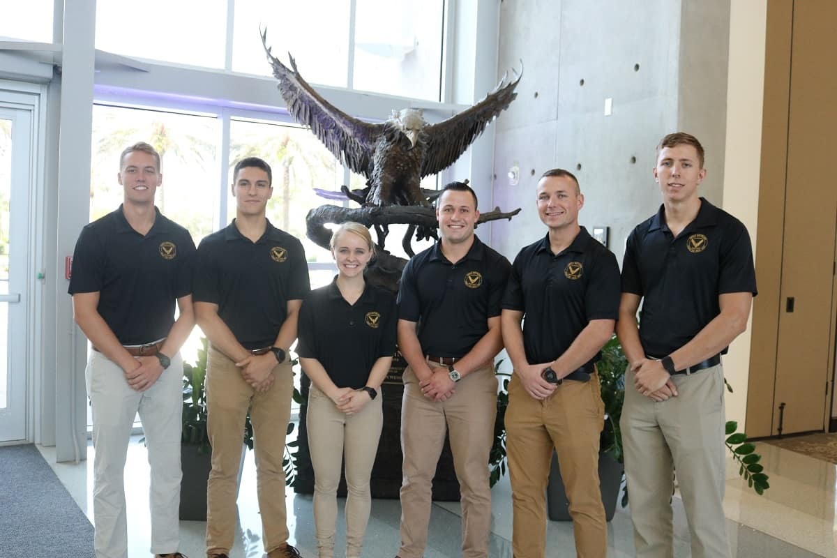 The members of Eagle Battalion ranked in the top 10 percent of Cadet Command's Order of Merit List