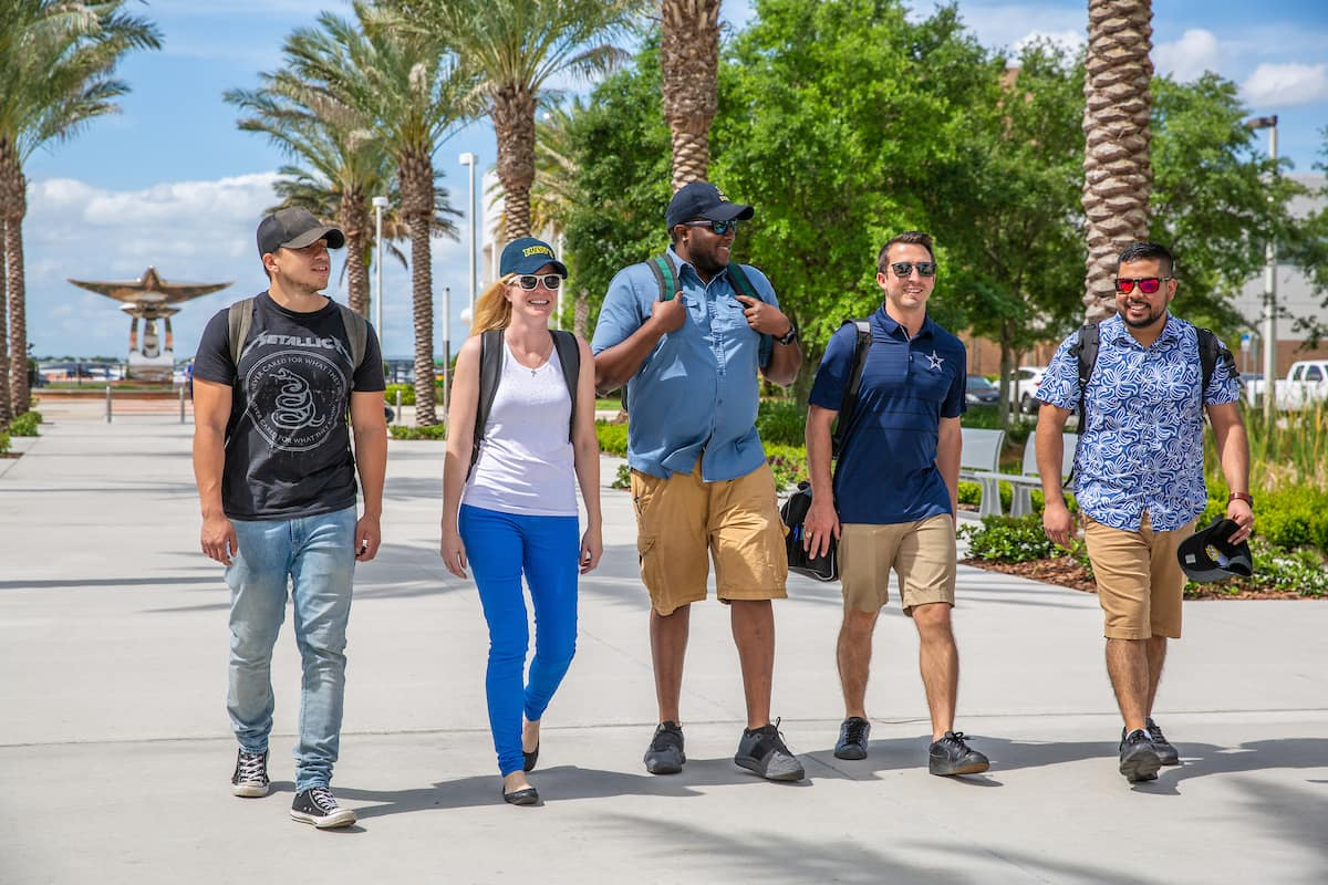 Veterans on the Embry-Riddle Daytona Beach Campus