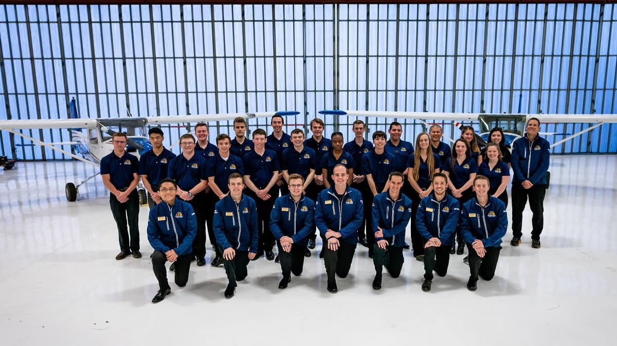The Prescott Campus Flight Team (Photo: Embry-Riddle)
