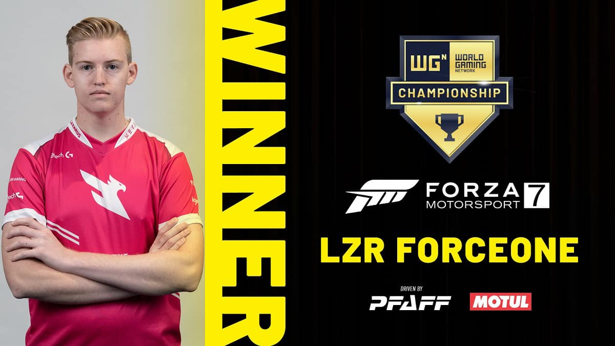 Dan Nyman World Gaming Forza Motorsport 7 North American Championships winner