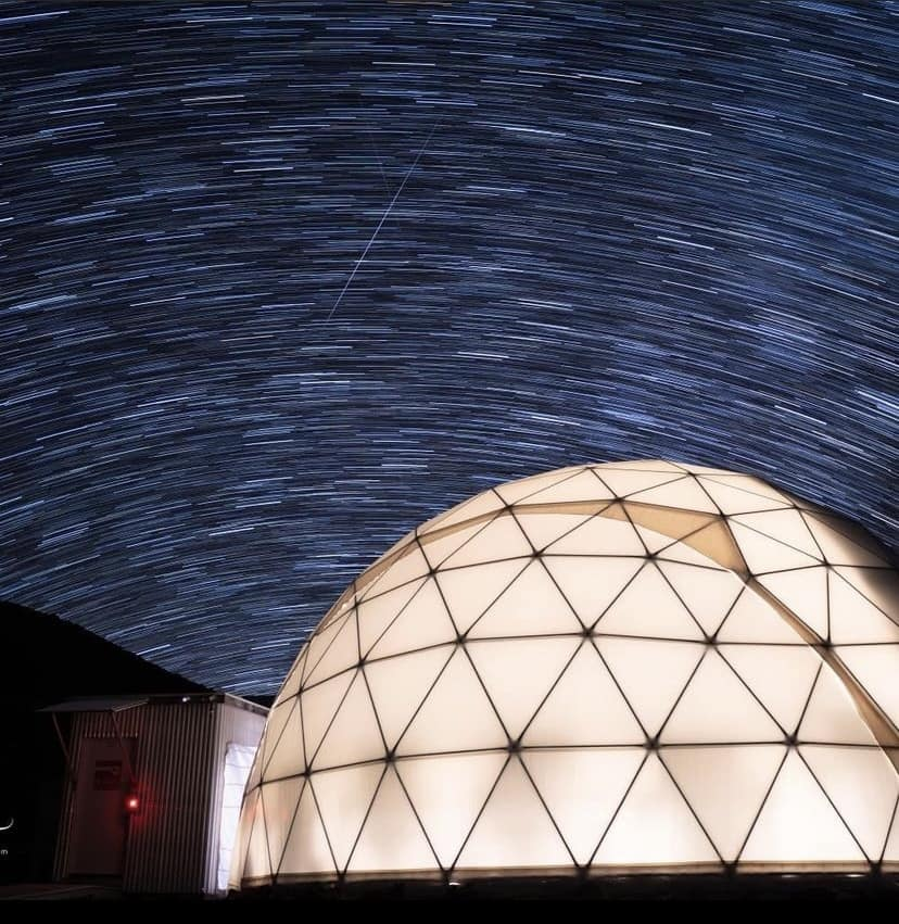 During their analog space mission, the students stayed in a domed habitat in Maui, Hawaii.  - hi seas2 - Eagles Simulate Life in Space, on Earth   Embry-Riddle Aeronautical University
