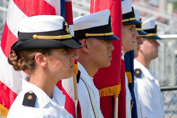 Embry-Riddle Naval ROTC Midshipmen Named No. 1 and No. 3 in the Nation