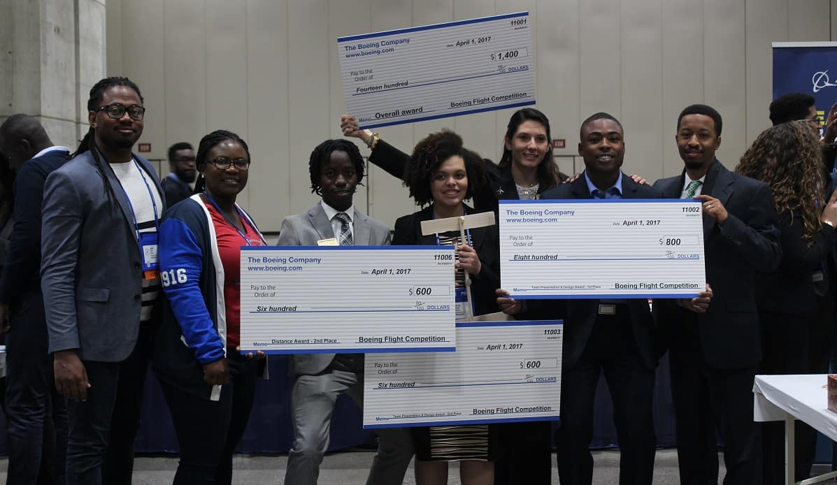 NSBE_ERAU_BoeingGliderCompetition_Winners