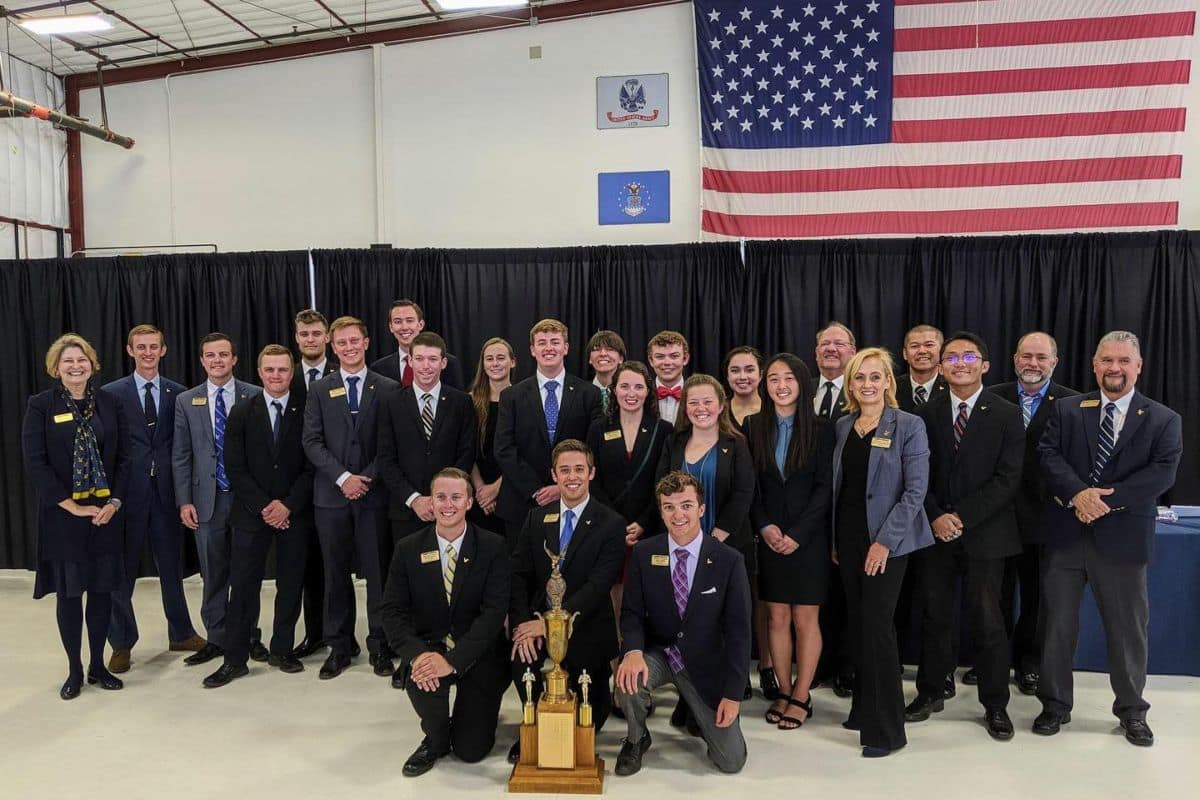 The 2019 Golden Eagles Flight Team Wins 33rd Consecutive NIFA Regional Championship