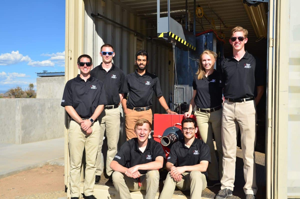 Embry-Riddle Students Construct and Hot Fire Liquid Rocket Engine