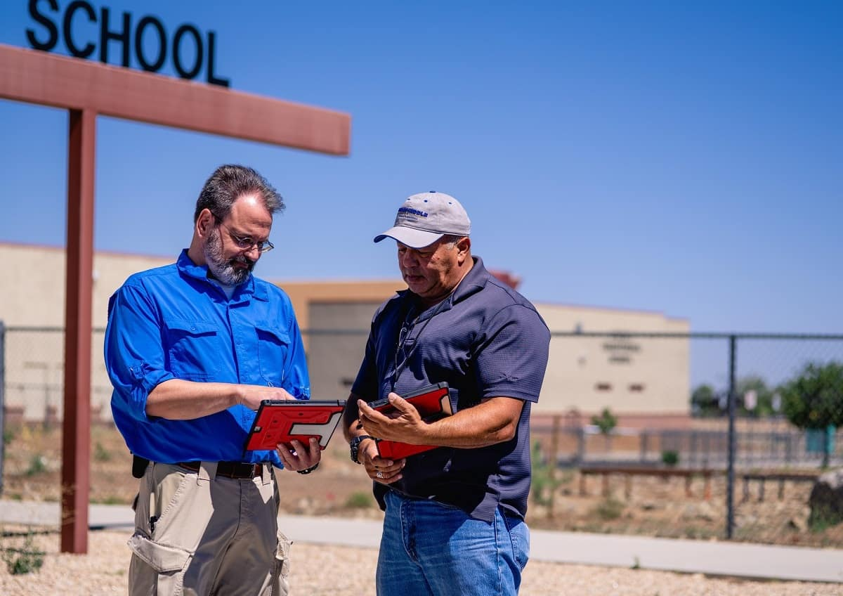 Tom Foley and Richard Rodriguez study plans to improve school security -...