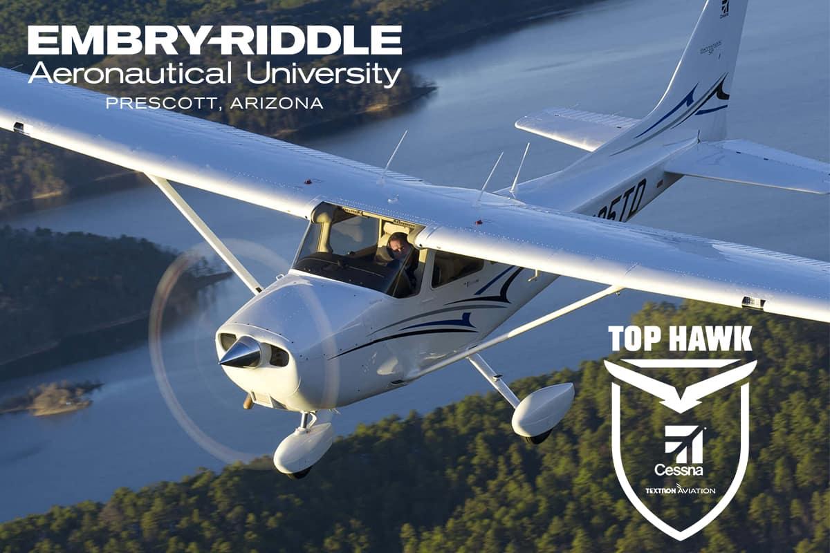 Textron Aviation Announces Embry-Riddle Prescott Among 2018