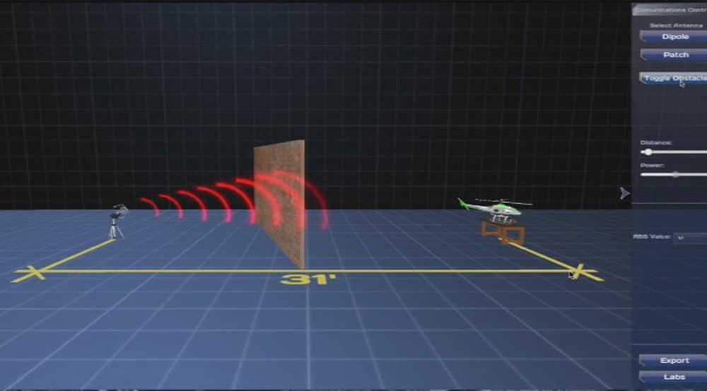 Virtual Robotics Lab Drone Software