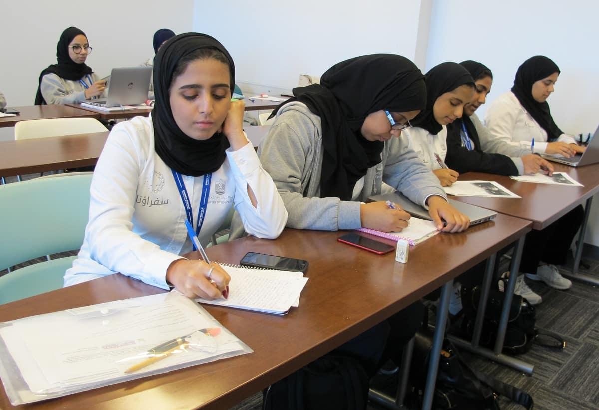 United Arab Emirates Teens Experience College Life In U S Embry Riddle Aeronautical University Newsroom